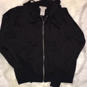 Black Zip up